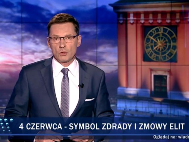 """Awantura o pasek """"Wiadomości"""" TVP. Krzysztof Ziemiec się broni: odpowiadam tylko za zapowiedź"""