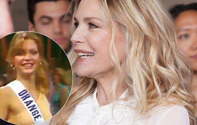 Michelle Pfeiffer ponad 40 lat temu! Zaczynała jako miss