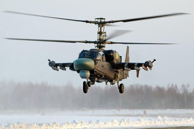 Ognisty rydwan Rosjan - śmigłowiec Ka-52 Aligator