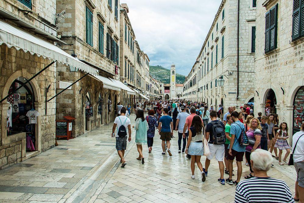 Dubrownik wprowadzi kolejne limity dla turystów. Chcą zmniejszyć liczbę aż o połowę