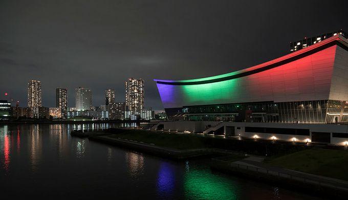 24 lipca rozpoczęłyby się Igrzyska Olimpijskie Na zdjęciu Ariake Arena w Tokio