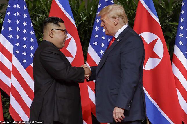 """Szczyt USA - Korea Północna. Trump nie kryje zadowolenia. """"Bardzo, bardzo udane spotkanie"""""""