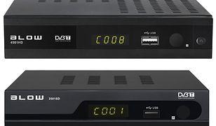 Tunery do cyfrowej telewizji naziemnej DVB-T od Blow