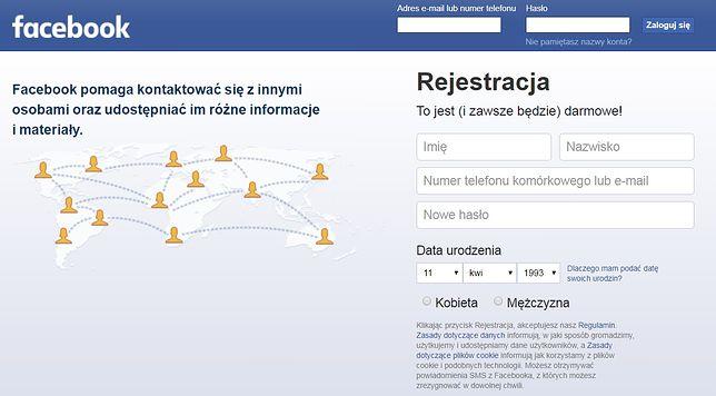 Data urodzenia na Facebooku nie musi być widoczna na stałe