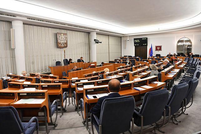 Awantura w Senacie. Padł wniosek o wyprowadzenie wiceministra