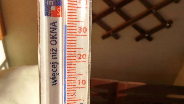 Czytelnik podzielił się z nami zdjęciem swojego termometru