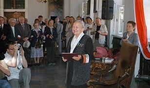 Generał Elżbieta Zawacka w Kancelarii Prezydenta