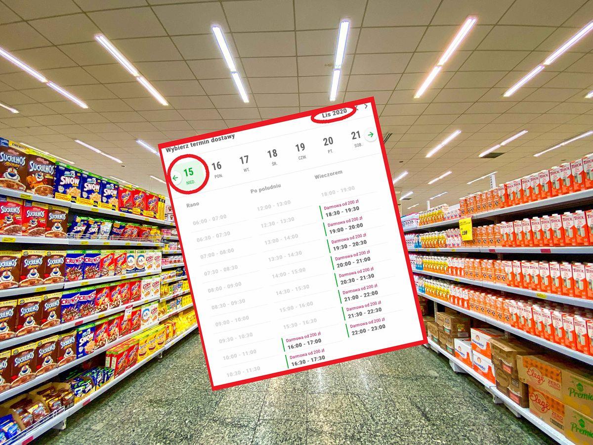 W niektórych sklepach dostawy zamówień internetowych możliwe są dopiero w listopadzie.