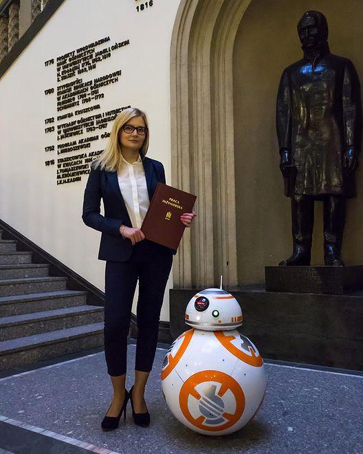 Weronika i jej robot