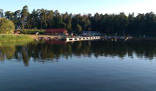 Jezioro Orzysz leży w samym sercu Mazur