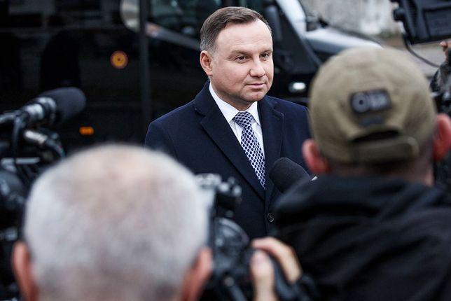 Prezydent Andrzej Duda chce, by TK zbadało zgodność przepisów wykorzystanych przez SN