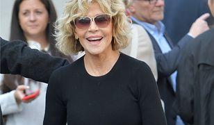 Jane Fonda podczas festiwalu w Lyonie