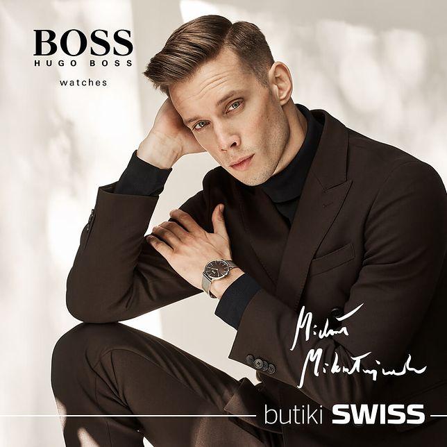 Michał Mikołajczak ambasadorem zegarków BOSS