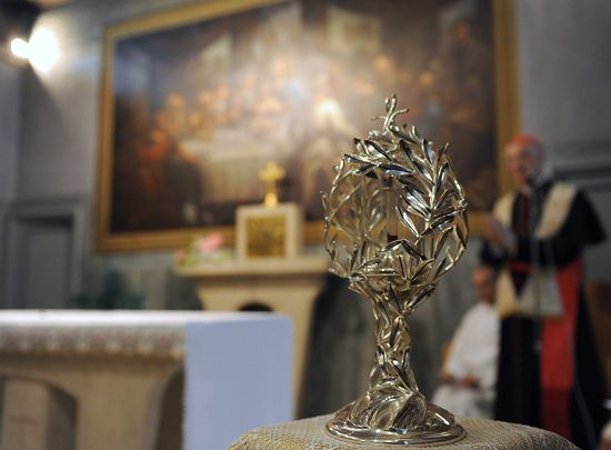 Relikwie Jana Pawła II w Moskwie