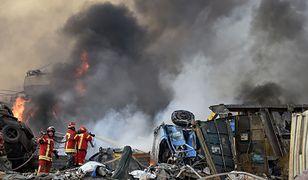 Bejrut. Potężny wybuch w centrum miasta pozbawił życie co najmniej 50 osób