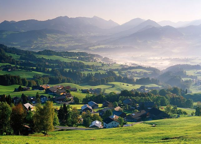 Vorarlberg - najmniej znany Polakom region Austrii