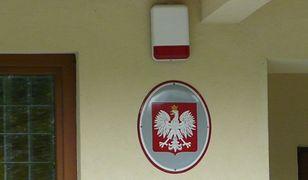 Wystawiono obraz godła Polski, na którym autor popełnił błąd. Wyjaśnienie urzędników zwala z nóg