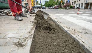 Warszawa. Rozpoczęły się prace na ulicach Bielan. (fot. Zarząd Dróg Miejskich)