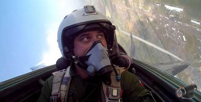 Kapitan Adrian Rojek o imponującym starcie MIG-a na pokazie lotniczym
