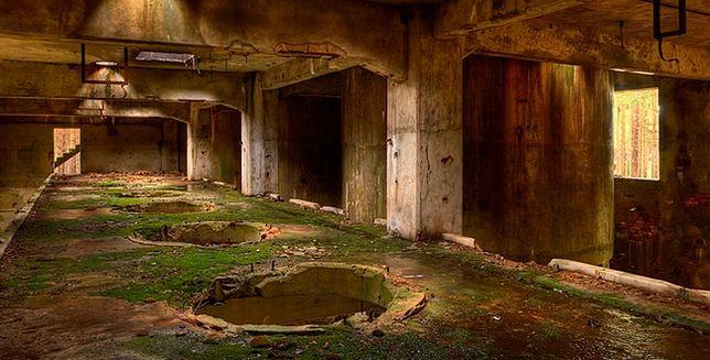 W opuszczonej fabryce amunicji
