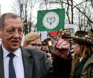 Jan Szyszko na wiecu poparcia