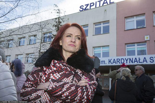 Koronawirus w Polsce. Bernadeta Krynicka nie była zwolenniczką przekształcenia szpitala w Łomży