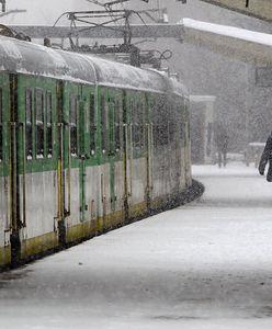 Zamiecie śnieżne nad Polską. Paraliż na kolei. Pociągi odwołane lub opóźnione