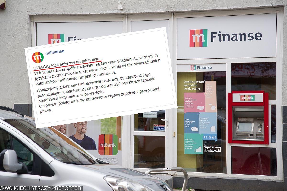 Groźny atak na mBank, dane klientów zagrożone