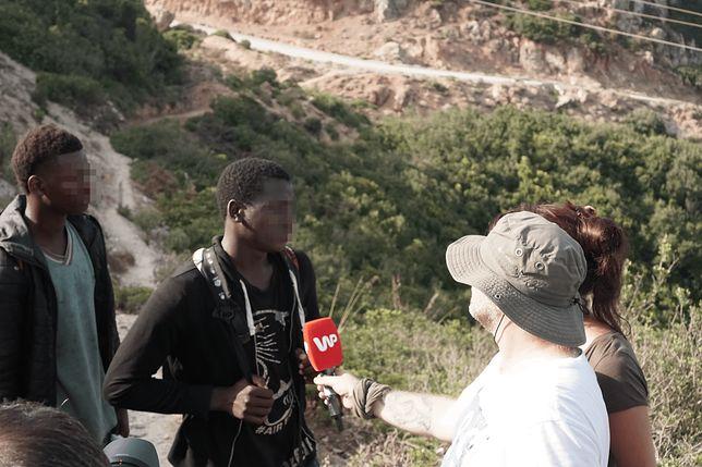 """Afrykańscy imigranci szykują się do """"skoku"""" do Europy. Reporter WP spotkał ich w Maroku"""