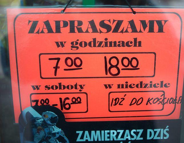 """Agnieszka ma cztery sklepy i marzy o niedzieli bez handlu. """"Oddałabym 2 tys. za ten luksus"""""""