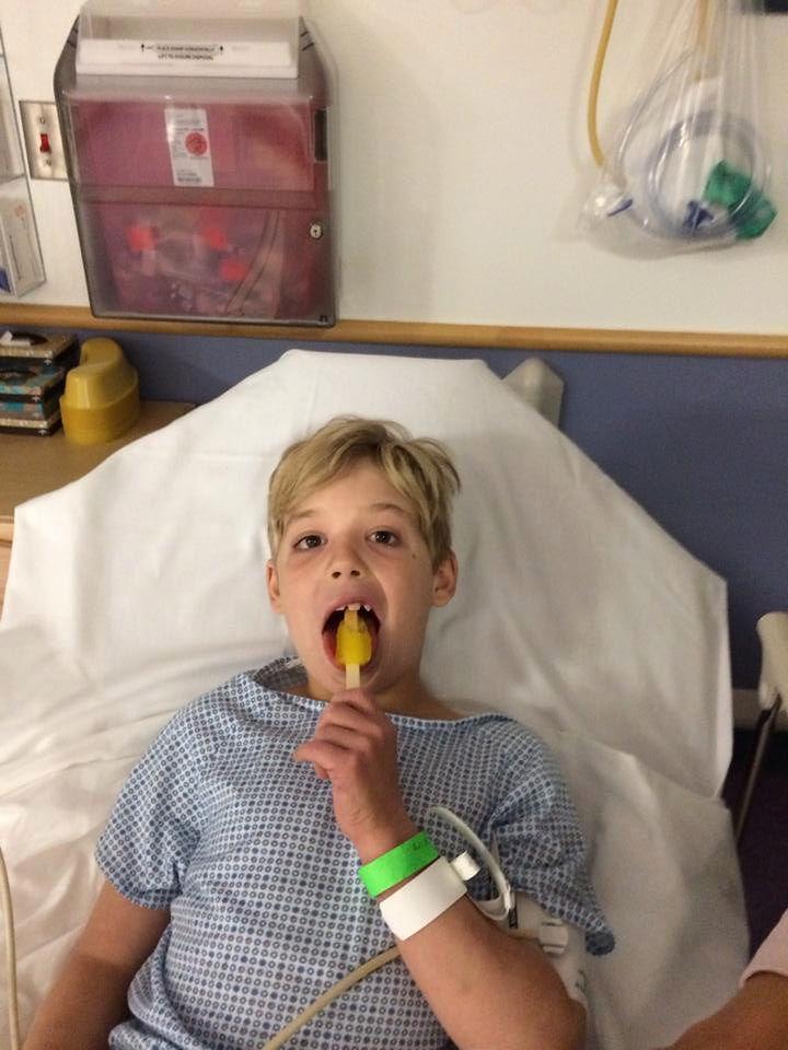 U chłopca zdiagnozowano udar mózgu
