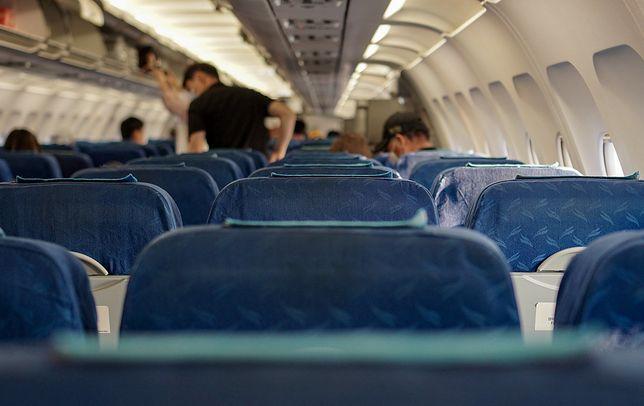 Agresywny pasażer po wylądowaniu w Miami został aresztowany