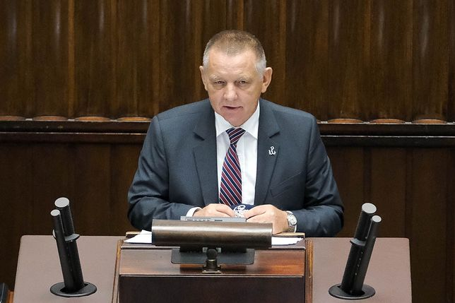 Przemówienie Mariana Banasia w Sejmie