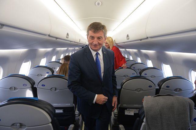 """Afera z lotami Marka Kuchcińskiego. """"Jedziemy dokładnie w kierunku drugiego Smoleńska"""""""
