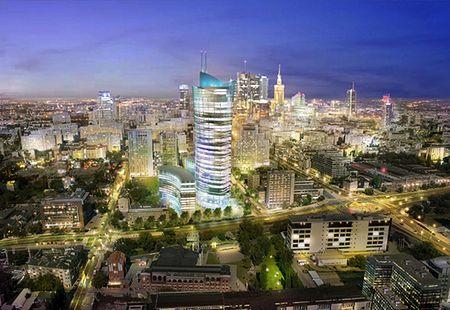 Powstaje najwyższy biurowiec w Warszawie