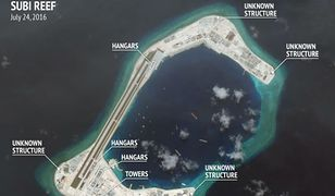 USA: Satelity ujawniły chińskie hangary lotnicze na wyspach Spratly