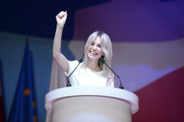Konwencja wyborcza kandydatki SLD Magdaleny Ogórek