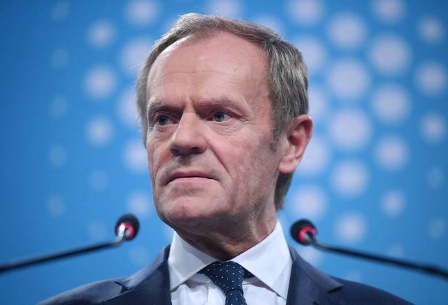 Donald Tusk zaapelował, by Polacy sami stanęli w obronie sądów