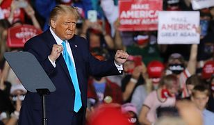 Wybory w USA. Donald Trump domaga się poddania Joe Bidena testowi antynarkotykowemu