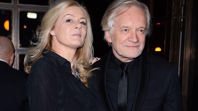 Katarzyna Kubacka i Andrzej Seweryn