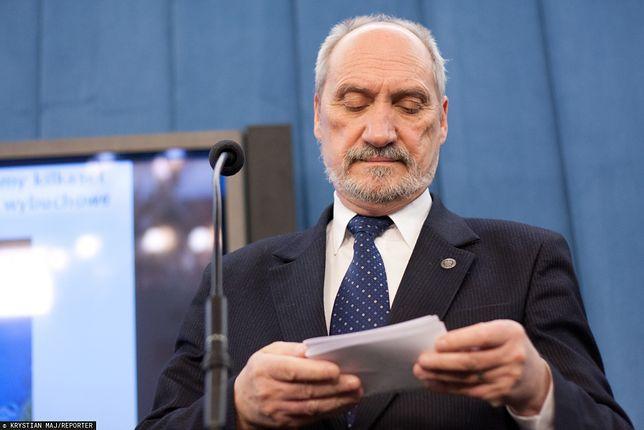 Były minister obrony narodowej Antoni Macierewicz (zdj. arch.)