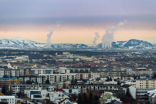 Większość mieszkań na Islandii jest ocieplanych ciepłem pochodzącym z wnętrza ziemi