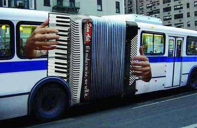 MZA chce wprowadzić autobusy grające jak akordeon!