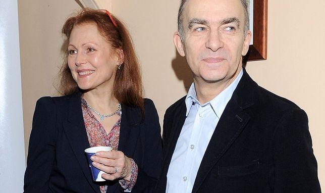 Seweryn Krajewski z żoną Elżbietą