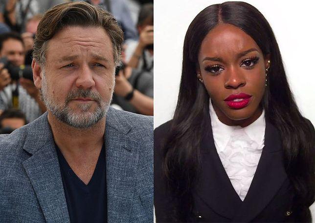 Russell Crowe flirtował z Azealią Banks przed pobiciem?