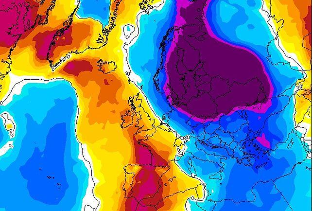 Atak zimy. 18 stycznia cała Polska może znaleźć się pod wpływem mroźnych mas powietrza