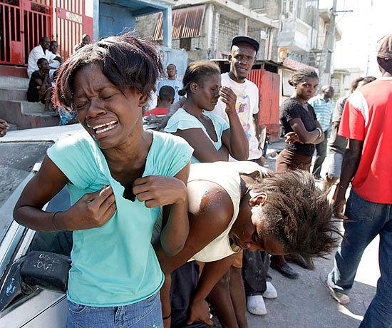 Ból, rozpacz i ruiny - zdjęcia z Haiti