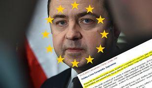 Szymański twierdzi, że... PiS wprowadził nas do UE. Wystarczył jeden tweet, żeby ośmieszyć jego wypowiedź