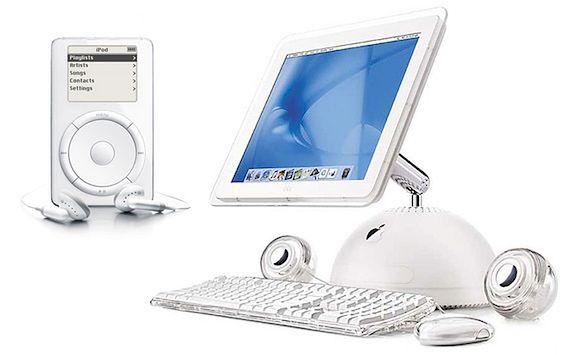 Na początku kampanii Switch to właśnie iPod i iMac były flagowymi produktami Apple.