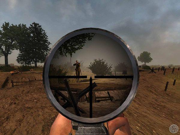 Strzelanka pierwszoosobowa (FPS) - kadr z gry Red Orchestra
